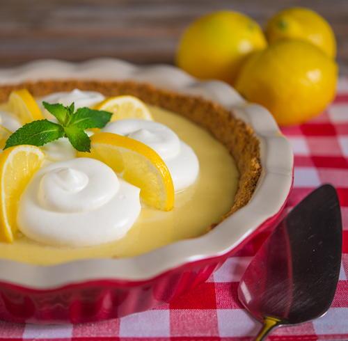 Southern Summer Lemon Icebox Pie