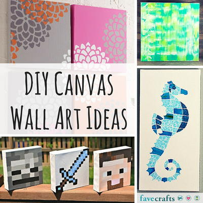 31 diy canvas wall art ideas for Diy wall art ideas for large wall