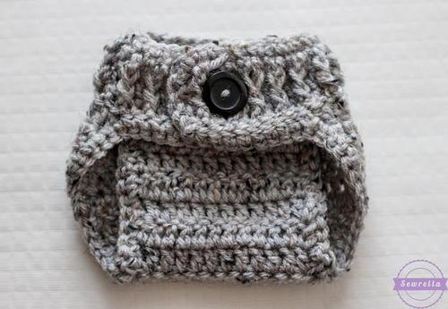 The Parker Crochet Diaper Cover Allfreecrochet