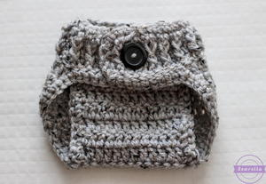 The Parker Crochet Diaper Cover
