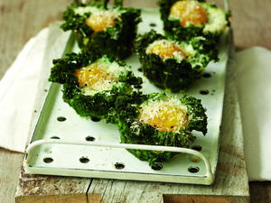 Kale Egg Cups