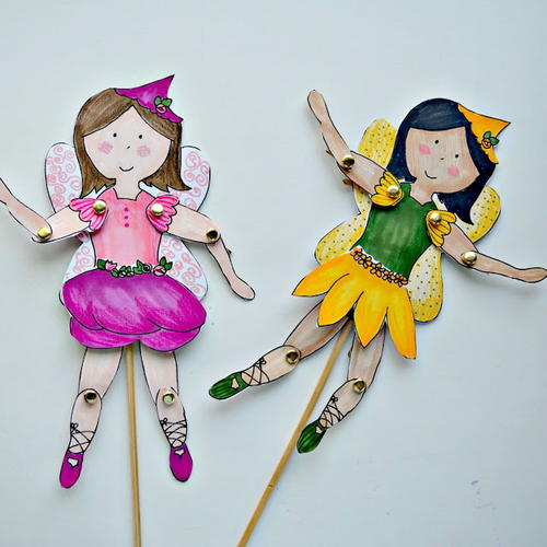 Fab Template: Fab Fairy Free Printable Paper Dolls