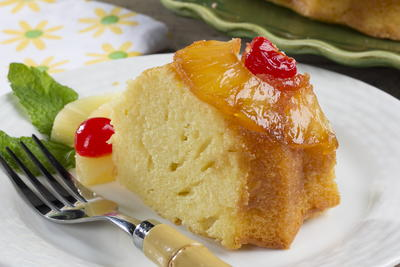 Pineapple Upside-Down Bundt Cake