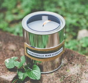 Citronella Man Candles