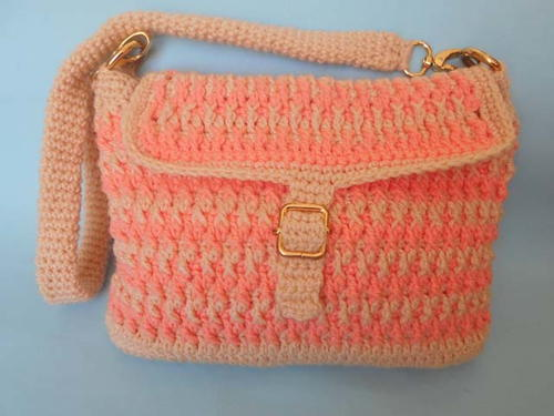Easy Handmade Crochet Bag