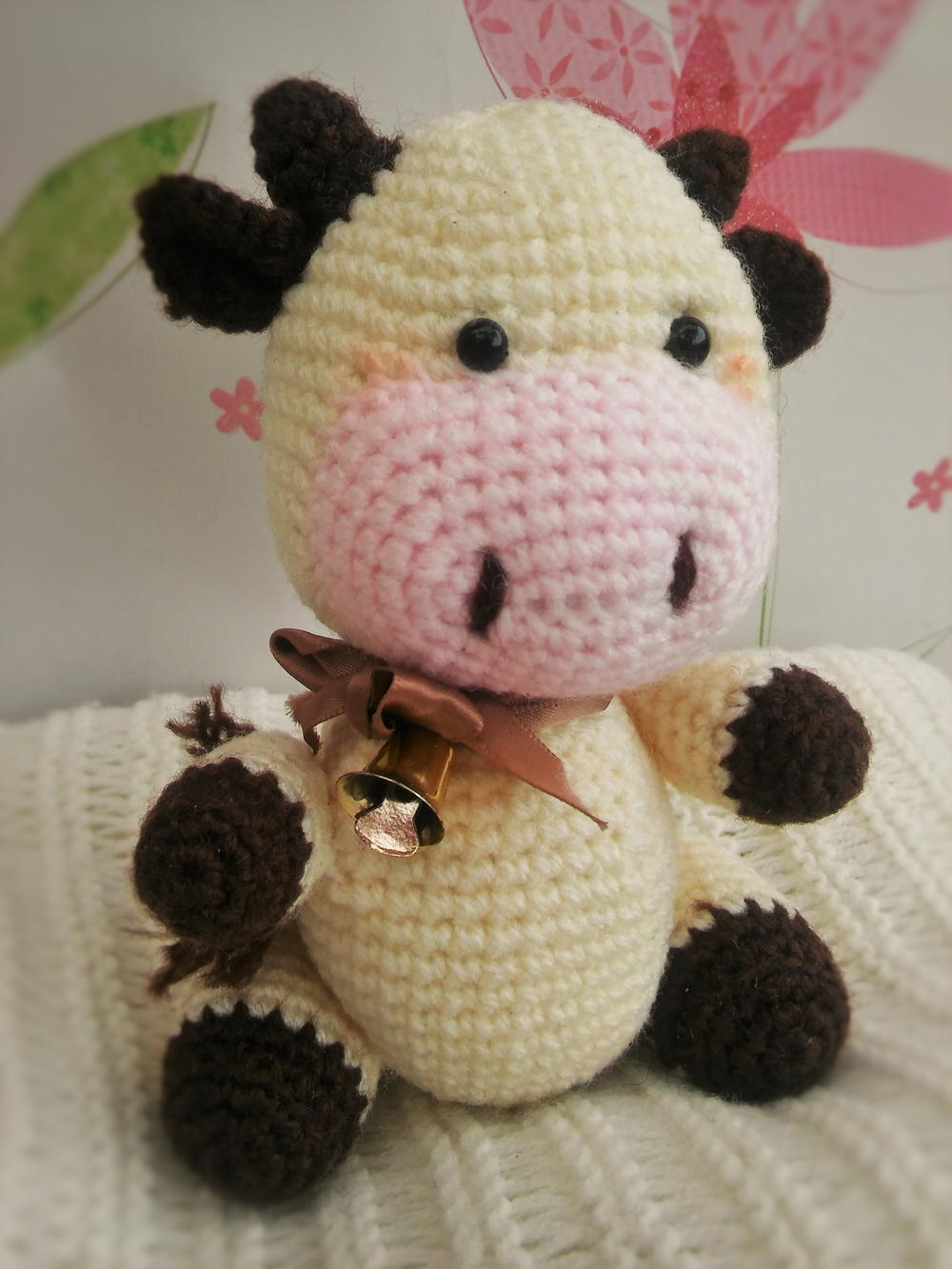 Candy the Cow Amigurumi | AllFreeCrochet.com
