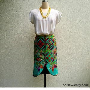 Bali the Reversible Skirt Pattern