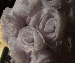 paper flower pomanders