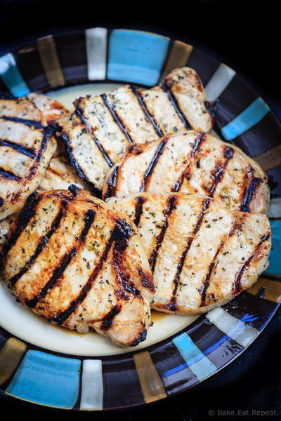 Easy Honey Lime Grilled Pork Chops