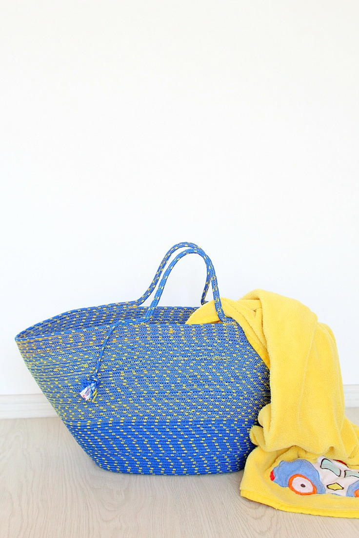 Do It Yourself Home Design: Rope Tote Bag Pattern