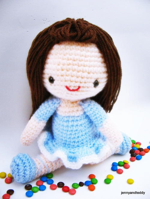 Bella Ballerina Amigurumi Doll Allfreecrochet