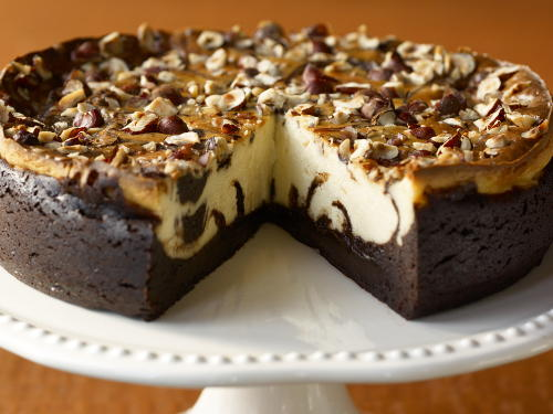 Marbled Hazelnut Brownie Cheesecake For A Crowd Cookstr Com