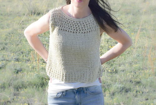 Summer Vacation Knit Top