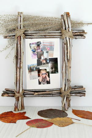 Rustic DIY Photo Frame