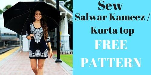 How to Sew a Salwar Kameez | AllFreeSewing.com