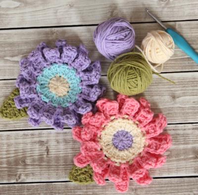 38 Free Crochet Flower Patterns Allfreecrochet