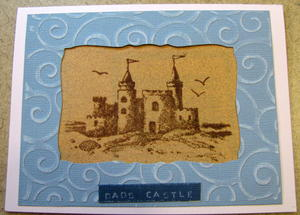Dad's Castle Father's Day Card
