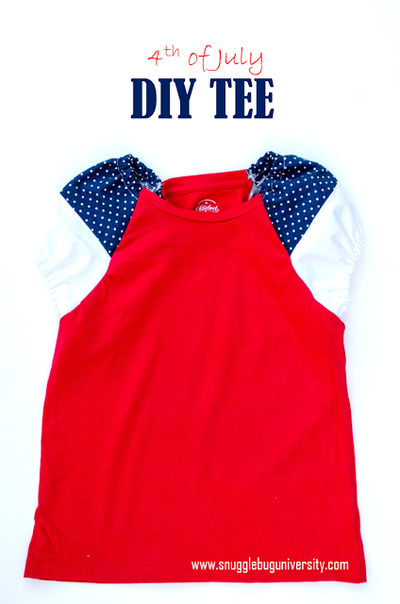 4th of July DIY T-Shirt