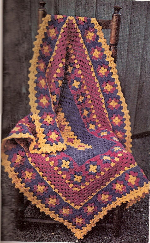 Granny Square Crib Afghan Favecrafts Com