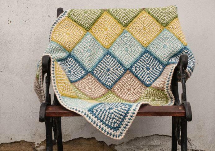 Linen Stitch Manghan Pattern Allfreecrochetafghanpatterns