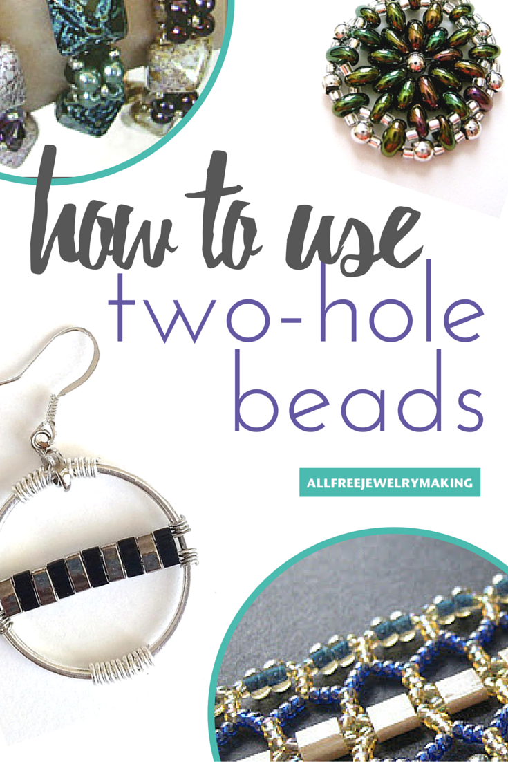 18 Bead Patterns For Two Hole Beads Allfreejewelrymaking