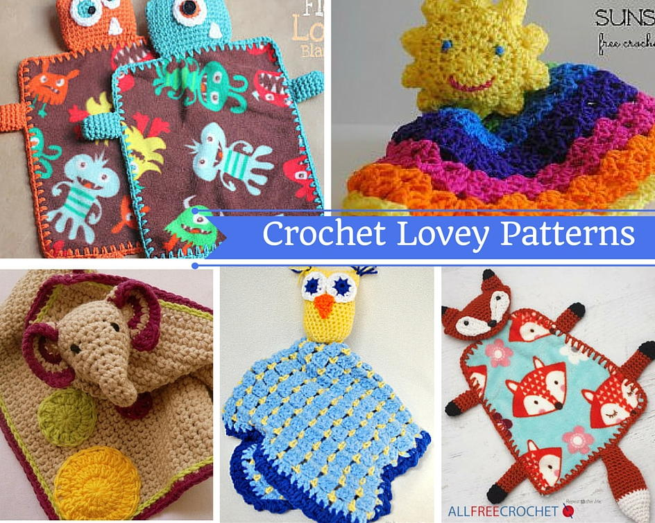 Free Pattern Crochet Lovey : Crochet Lovey Patterns AllFreeCrochetAfghanPatterns.com