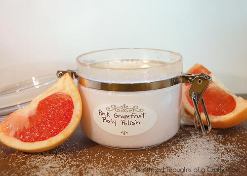 Grapefruit Body Polish Recipe