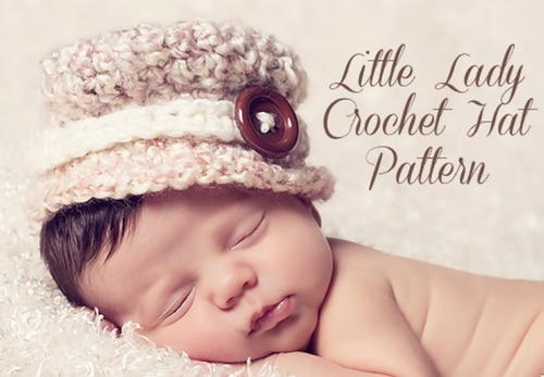 Little Lady Crochet Hat Pattern Allfreecrochet
