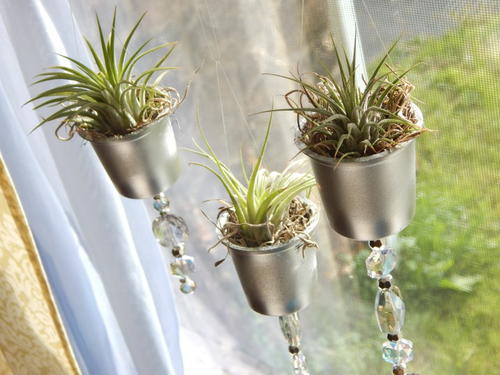 Upcycled K-Cup Planters