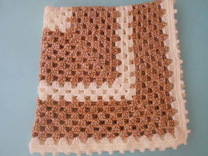 Two Hues Crochet Baby Blanket