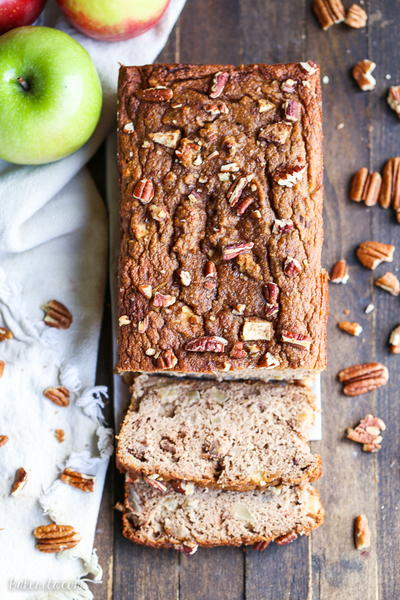 Paleo Apple Cinnamon Bread