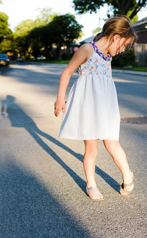 Little Lady Braided Dress Pattern