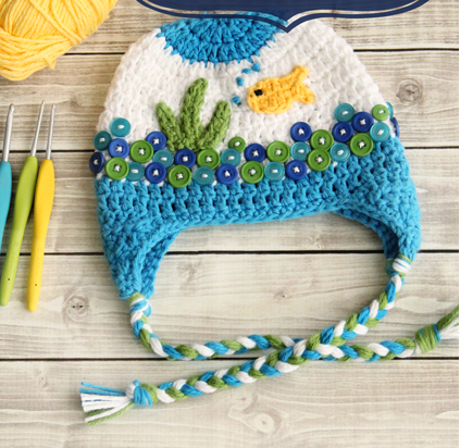 Fishbowl crochet baby hat pattern allfreecrochet fishbowl crochet baby hat pattern ccuart Gallery
