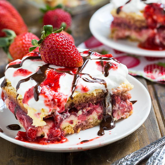 Strawberry Sunset Dessert Lasagna TheBestDessertRecipescom