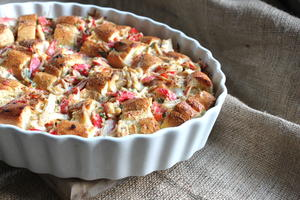 Buttery Crab Cake Pudding