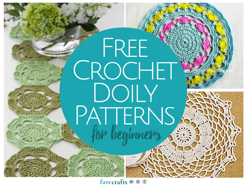 13 free crochet doily patterns for beginners favecrafts reheart Choice Image