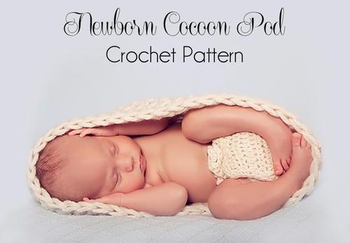 Newborn Crochet Cocoon Pod Allfreecrochet