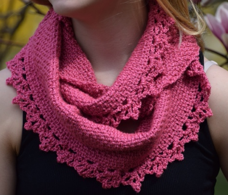 Rose Lace Crochet Cowl Pattern Allfreecrochet