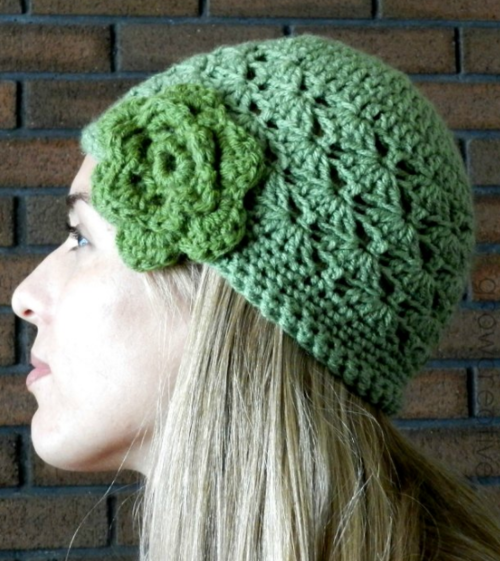 Shell Stitch Crochet Hat Pattern Allfreecrochet