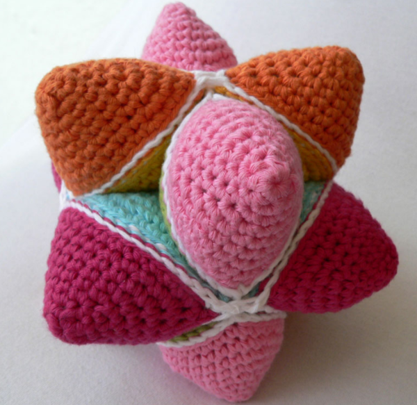 Crochet Puzzle Ball
