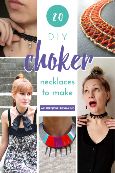 28+ DIY Choker Necklaces to Make