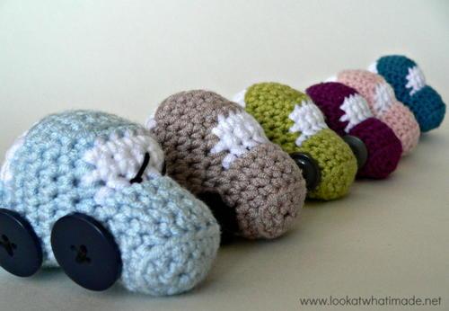 Crochet Vehicles Little Car Toys Allfreecrochet