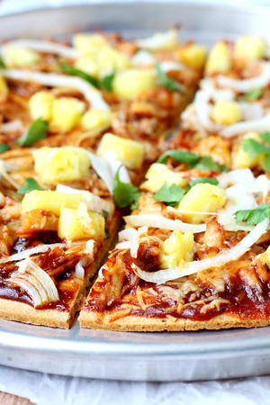 Copycat California Pizza Kitchen Hawaiian BBQ Chicken Pizza