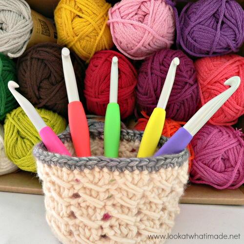 Itty Bitty Crochet Basket Pattern Allfreecrochet