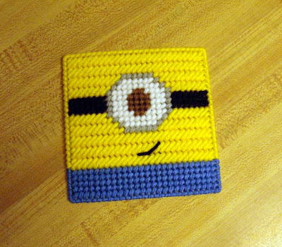 Minion Free Plastic Canvas Pattern Favecrafts