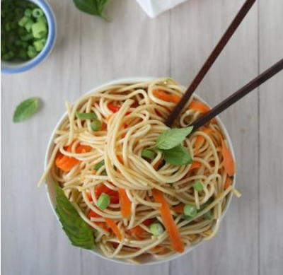 Cold Noodle Asian Salad