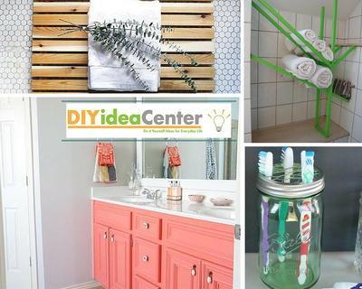 DIY Bathroom Ideas: 22 Marvelous DIY Bathroom Decor Ideas ... on easy diy cabinets, easy diy bathroom painting, easy diy bathroom flooring, easy diy garage, easy diy bathroom vanities, easy diy basement, easy diy crown molding, easy diy shower, easy diy air conditioning, easy diy bathroom makeovers,
