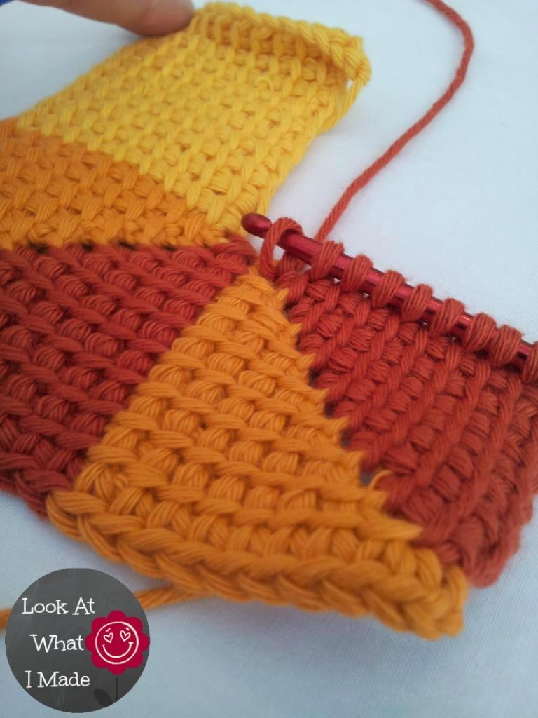 Easy Tunisian Crochet Baby Blanket Pattern : Ten Stitch Tunisian Crochet AllFreeCrochetAfghanPatterns.com