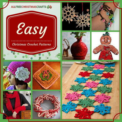 23 Easy Christmas Crochet Patterns Allfreechristmascrafts