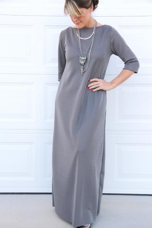 Easy maxi dress